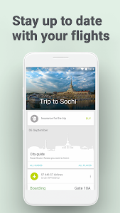 screenshot of S7 Airlines version 3.1.4