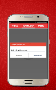 screenshot of HD Video Downloader version 3