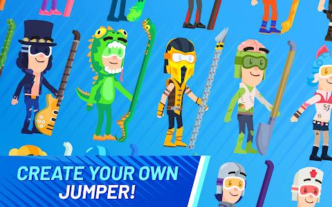 screenshot of Ski Jump Challenge version 1.0.19