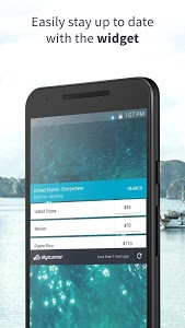 screenshot of Skyscanner - Cheap Flights, Hotels and Car Rental version 5.53