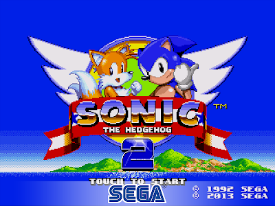 screenshot of Sonic The Hedgehog 2 Classic version 1.1.0