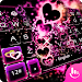 Download Sparkling Heart Keyboard Theme 6.9.12.2018 APK