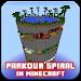 Download Spiral Parkour map for minecraft 1.0 APK