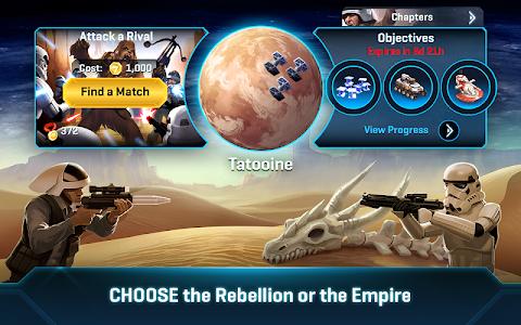 screenshot of Star Wars™: Commander version 7.3.0.323