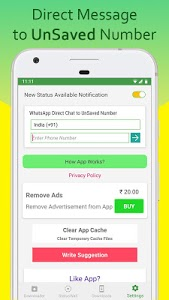 screenshot of Status Downloader for Whatsapp version 1.35