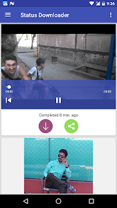 screenshot of Status Downloader for Whatsapp version 1.1