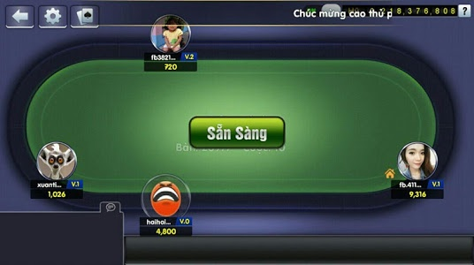 screenshot of Game bai doi thuong, tien len version 5.0.0