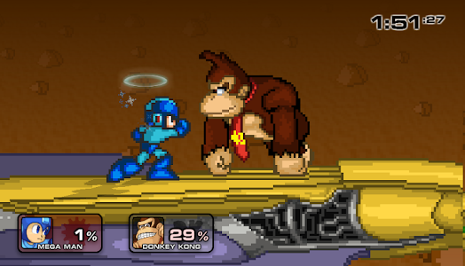 screenshot of Super Smash Flash 2 version 1.0
