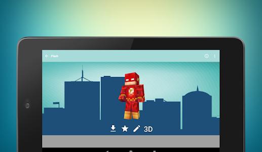Download Superhero skins for Minecraft 3D 1.0.28 APK