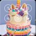 Download Sweet Unicorn Cake Screen Lock 1.0 APK