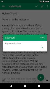Download T2S: Text to Voice - Read Aloud 0.7 RC7 APK