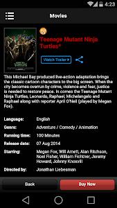 screenshot of TGV Cinemas version 1.2.0