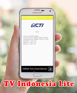 screenshot of TV Online Indonesia Lite version 1.0