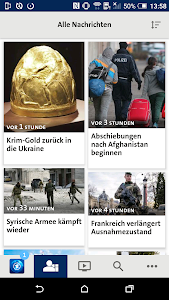 screenshot of Tagesschau version 2.0