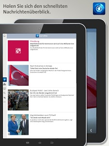 screenshot of Tagesschau version 2.2.1