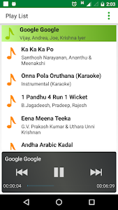 screenshot of Tamil Music ON - Tamil Songs version 3.5.31