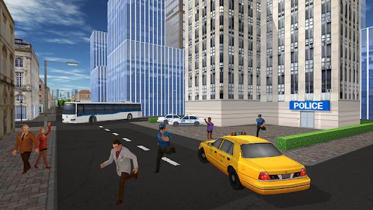 screenshot of Taxi Game version 1.1.0