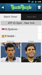 Download Tennis Live scores 1.2 APK