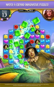 screenshot of The Wizard of Oz Magic Match 3 version 1.0.3711