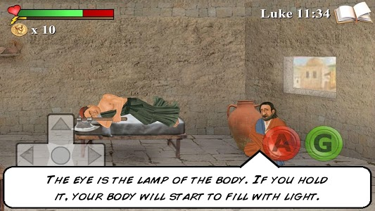 screenshot of The You Testament: The 2D Coming version 1.044