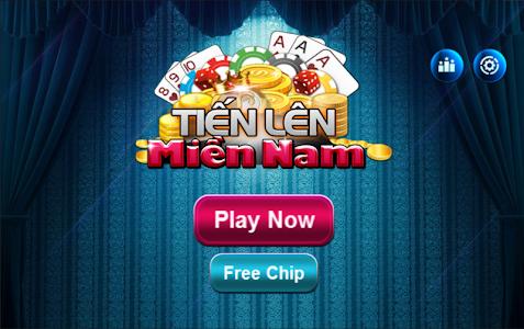 screenshot of Tien Len Mien Nam - tlmn version 1.1.6
