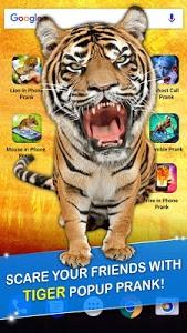 Download Tiger in Phone Prank 1.3 APK