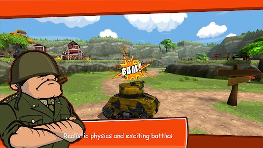 Download Toon Wars: Battle tanks online 2.54 APK