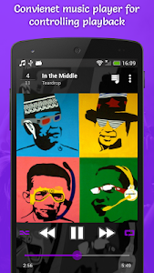 screenshot of Top Music Player version 2.12