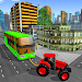Download Tractor Pull Transport Traffic Car Tow. Bus Towing 1.0 APK