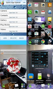 screenshot of Transparent Screen Launcher version 6.0