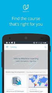 screenshot of Udacity - Lifelong Learning version 4.9.0