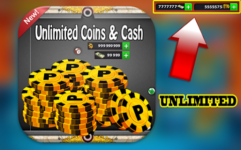 Download Unlimited Coins & Cash for 8Ball Pool Prank Tool 1.1 APK
