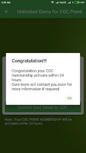 Download Unlimited Gems for COC Prank 1.2 APK