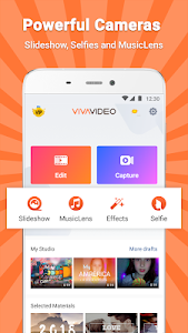 screenshot of VivaVideo - Video Editor & Photo Movie version 7.6.9
