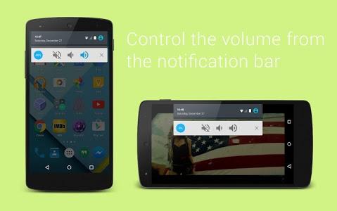screenshot of Volume Button for Lollipop version 2.1.0