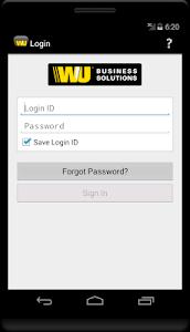screenshot of WUBS Prepaid version 1.2