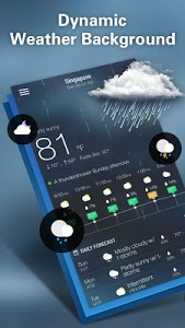 screenshot of Weather Forecast version 1.6.6