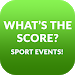 Download What's the Score? Sport events live 1.0 APK