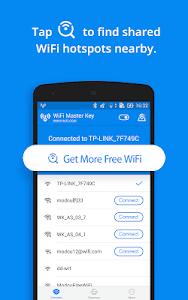 screenshot of WiFi Master Key - by wifi.com version 4.5.76