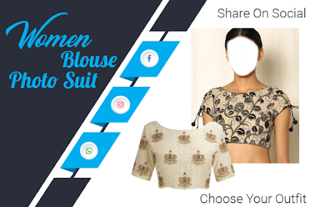 Download Women Blouse Photo Suit 2017 1.0.3 APK