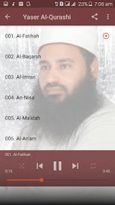 Download Yaser Al Qurashi Full Quran MP3 Offline 3 APK