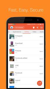 screenshot of Zapya - File Transfer, Sharing version 4.3.1