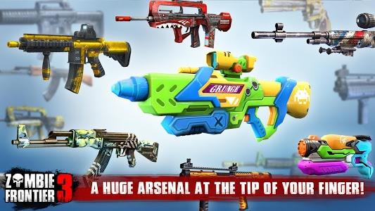 screenshot of Zombie Frontier 3-Shoot Target version 1.81