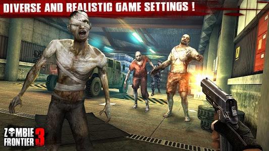 screenshot of Zombie Frontier 3: Sniper FPS version 2.04