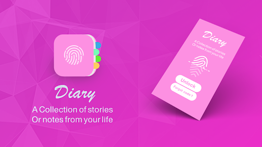 Download diary with a fingerprint lock 5 APK