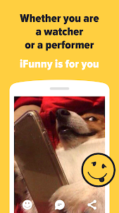screenshot of iFunny :) version 4.6.3