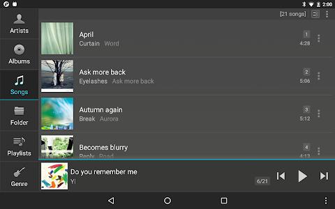 screenshot of jetAudio HD Music Player version 9.7.3
