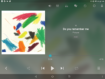 screenshot of jetAudio HD Music Player version 9.5.3